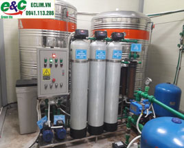 Pure DI water treatment system meets standards